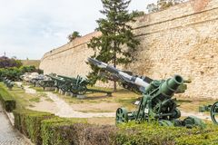 Kalemegdan fortress in Belgrade. Serbia Royalty Free Stock Photo