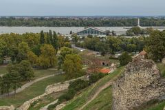 Kalemegdan fortress in Belgrade. Serbia Royalty Free Stock Photos