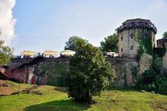 Kalemegdan fortress in Belgrade stock image