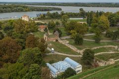 Kalemegdan fortress in Belgrade. Serbia Stock Image