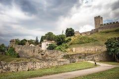 Kalemegdan fortress in Belgrade Stock Photos