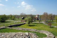 Kalemegdan, fortress in Belgrade, Serbia. Lower part of the Kalemegdan fortress, Belgrade, Serbia Stock Photo