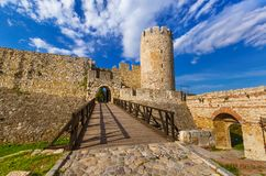Kalemegdan fortress in Belgrade - Serbia stock photo