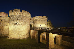 Kalemegdan fortress in Belgrade Serbia. Old Medieval Kalemegdan fortress in Belgrade Serbia Stock Images