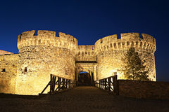 Kalemegdan fortress in Belgrade Serbia Royalty Free Stock Photography