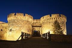 Kalemegdan fortress in Belgrade Serbia. Old Medieval Kalemegdan fortress in Belgrade Serbia Royalty Free Stock Photography