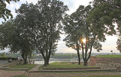 Kalemegdan fortress, Belgrade, Serbia Royalty Free Stock Photography