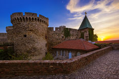 Kalemegdan fortress Beograd - Serbia. Architecture travel background stock photography