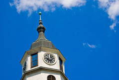 Kalemegdan Fortress clock tower, Belgrade Stock Images