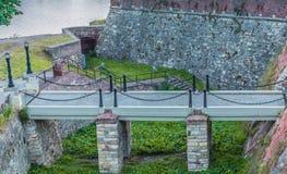 Kalemegdan fortress. Enterance, river Danube Belgrade, Serbia Stock Photography