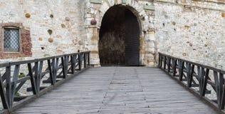 Kalemegdan fortress. Gate and bridge, Kalemegdan fortress in Belgrade, Serbia Stock Photos