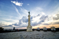 Belgrade, Kalemegdan fortress Royalty Free Stock Images