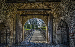 Kalemegdan gate stock photo