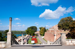 Kalemegdan landscape Stock Photography