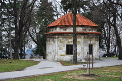 Kalemegdan the largest park and the most important historical monument in Belgrade Stock Photos