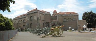 kalemegdan militärt museum Fotografering för Bildbyråer