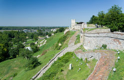 Kalemegdan park with the ancient fortress, Belgrade Royalty Free Stock Photos