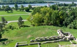 The Kalemegdan park in Belgrade Royalty Free Stock Photo