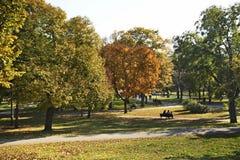 Kalemegdan park in Belgrade. Serbia Royalty Free Stock Photo
