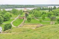 Kalemegdan park, Belgrade, Serbia Royalty Free Stock Images