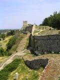 kalemegdan park för fästning Arkivbild