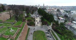 Kalemegdan park przy Belgrade fortecą zbiory