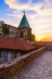 Kalemegdanvesting Beograd - Servië stock afbeelding