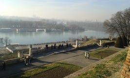 Kalemegden Castle. Belgrade. Kalemegden Castle Belgrade. Winter 2017 Royalty Free Stock Photography