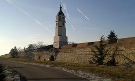 Kalemegden Castle. Belgrade. Kalemegden Castle Belgrade. Winter 2017 Stock Image