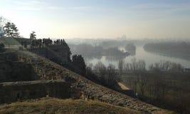 Kalemegden Castle. Belgrade. Kalemegden Castle Belgrade. Winter 2017 Stock Images