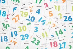 Kalendarz zdjęcia royalty free