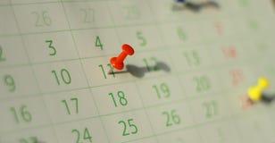 kalendarz Obraz Royalty Free