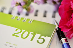 Kalendarz 2015 Obrazy Stock