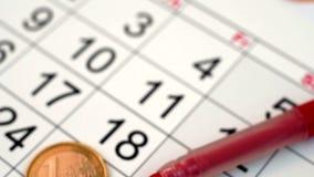 kalendarz zdjęcie wideo