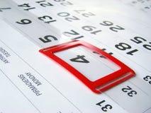kalendarz Fotografia Royalty Free