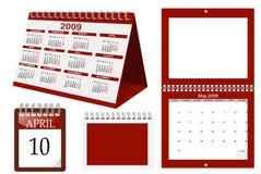 kalendarz Zdjęcie Stock