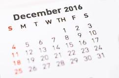 kalendarz może wkrótce wyborowi nadchodzący Grudzień projekta miesiąc mój inny swój pasty teksta use ty twój Obraz Stock