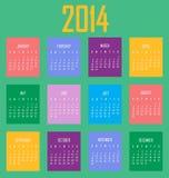 Kalendarz 2014 Orchide Zdjęcie Royalty Free