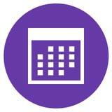 kalendarzowa ikona Obraz Stock