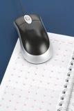 kalendarzowa komputerowa mysz zdjęcie royalty free