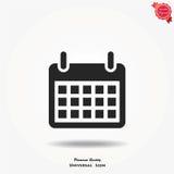 Kalendarzowa wektorowa ikona Zdjęcie Royalty Free
