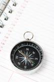 kalendarzowego agendy kompas. Fotografia Stock