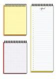 kalendarzowi notatniki dwa Zdjęcie Stock