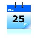 kalendarzowy święto bożęgo narodzenia Zdjęcie Royalty Free