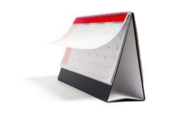 kalendarzowy biurko Obrazy Stock