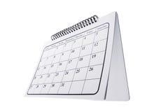 kalendarzowy biurko Fotografia Royalty Free
