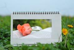 kalendarzowy biurko Zdjęcie Royalty Free