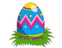Kalendarzowy Easter 2018 1st Kwiecień Niedziela odizolowywał Obrazy Stock