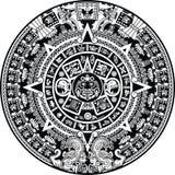 kalendarzowy majowie ilustracja wektor