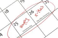 kalendarzowy ocechowanie Obraz Royalty Free